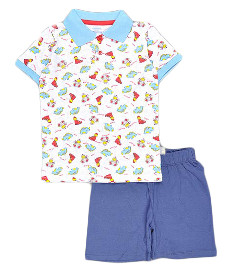 Комплект для мальчика Cherubino: джемпер, шорты, цвет: темно-синий. CSB 9237 (20). Размер 98CSB 9237 (20)Комплект для мальчика Cherubino послужит идеальным дополнением к гардеробу вашего крохи, состоит из набивной футболки-поло и гладкокрашенных шорт. Комплект очень мягкий и легкий, не раздражает нежную кожу ребенка и хорошо вентилируется.