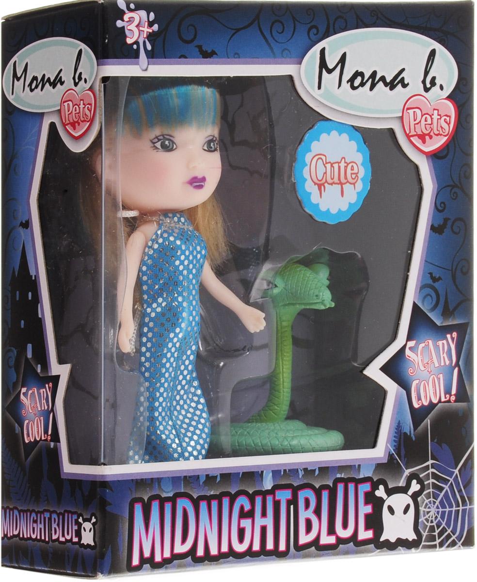 Veld-CoМини-кукла Mona со змеей В набор к кукле входят ее морской друг - змея, для увлекательной...