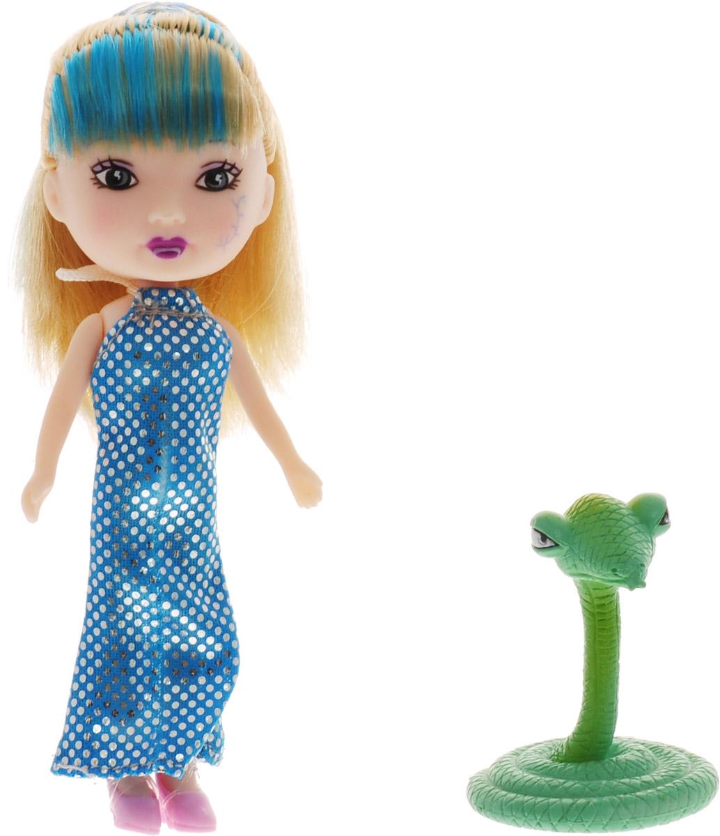 Veld-Co Мини-кукла Mona со змеей veld co мини кукла mona с черепахой