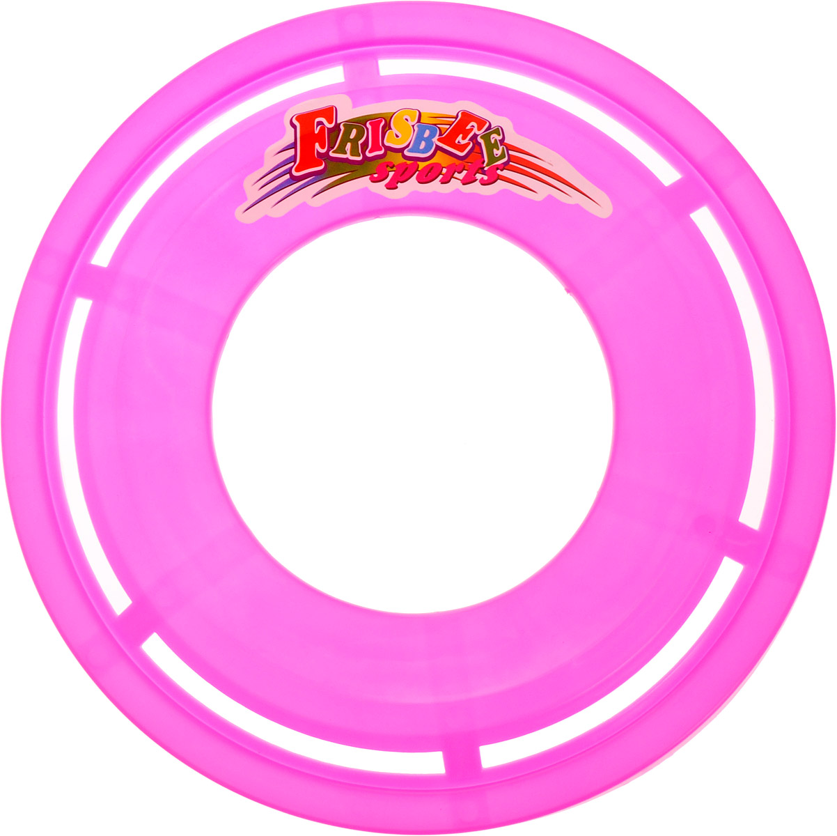 Veld-Co Летающая тарелка цвет розовый диаметр 23 см степлеры канцелярские veld co степлер