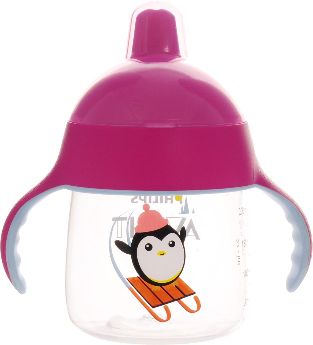 Philips Avent Волшебная чашка-непроливайка для детей от 12мес., розовый SCF753/00 -  Поильники