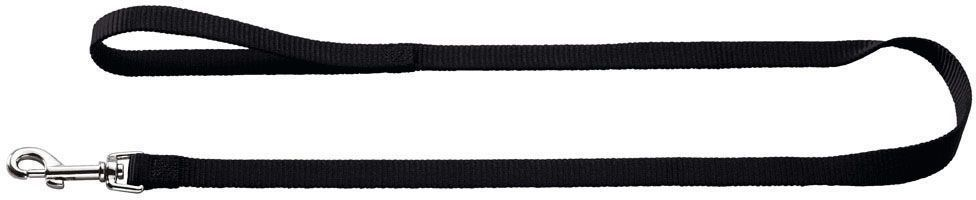 Поводок-перестежка для собак Hunter Smart. Ecco, цвет: черный, ширина 20 мм, длина 1,8 м сумка eldora ecco ecco mp002xw0001w