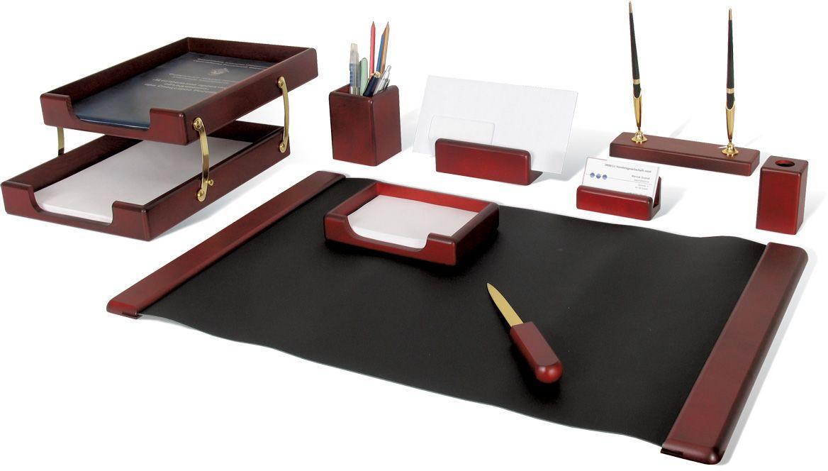 Galant Набор письменных принадлежностей Glory цвет красное дерево 9 предметов -  Наборы письменных принадлежностей