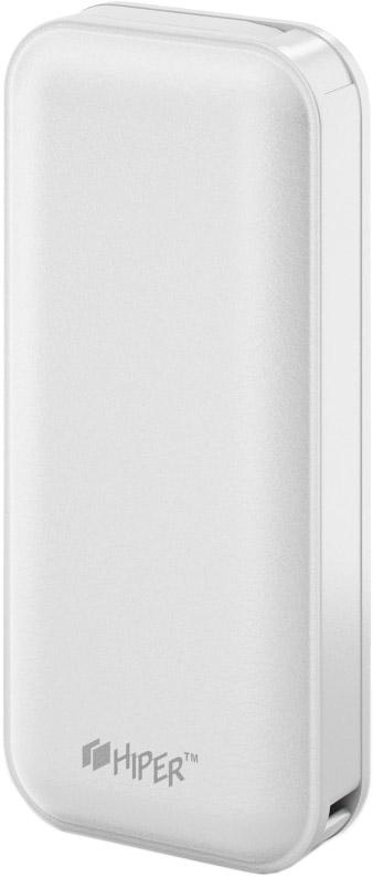 Hiper SP5000, White внешний аккумулятор (5000 мАч)
