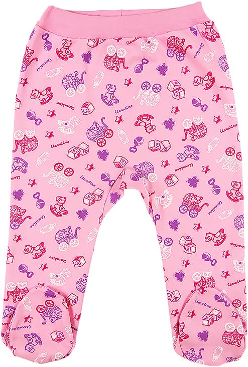 где купить Ползунки для девочки Cherubino, цвет: розовый. CWN 7519 (126). Размер 62 по лучшей цене
