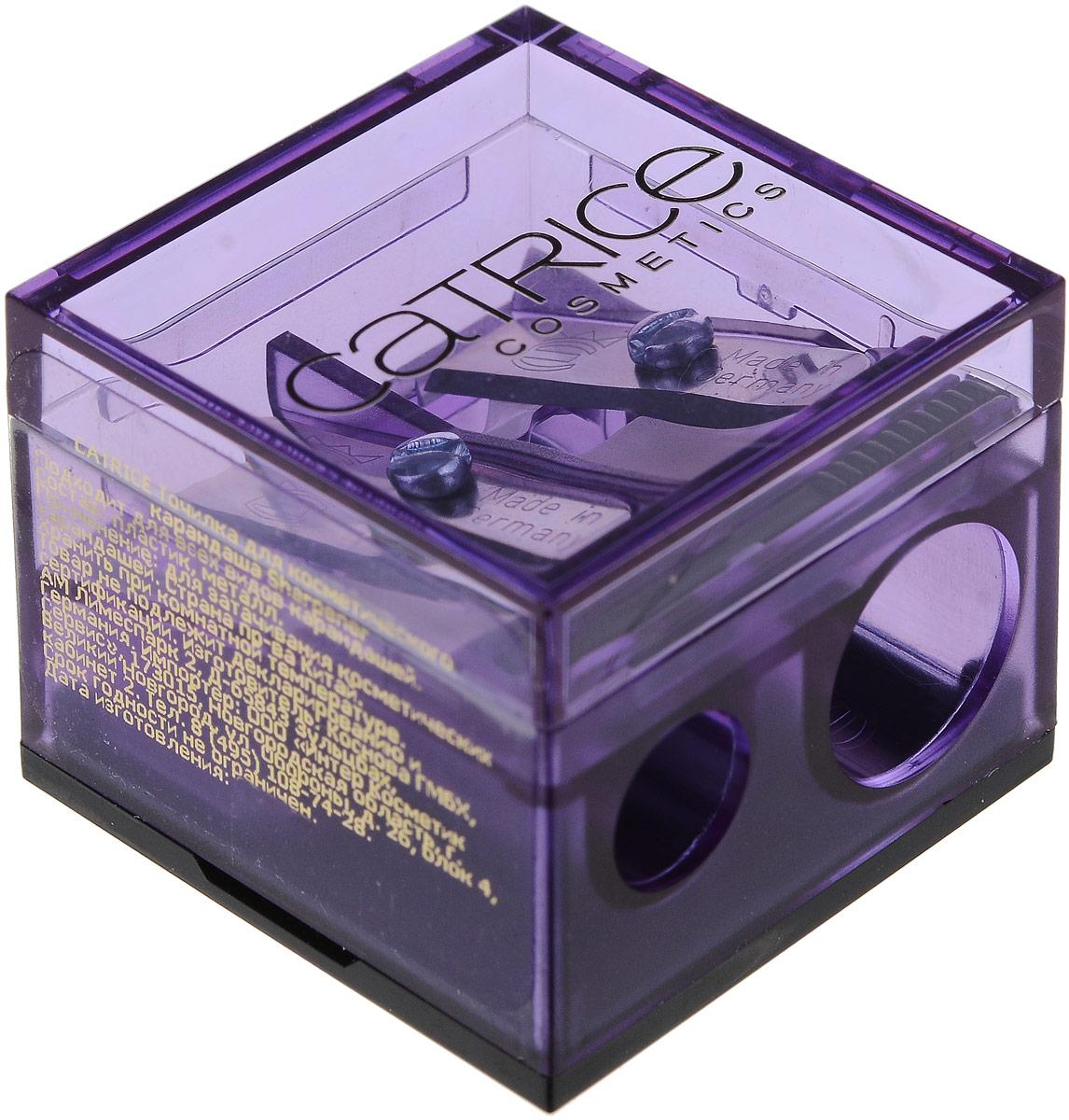 Catrice Точилка для косметического карандаша Sharpener 2 гр, цвет: фиолетовый44651_фиолетовыйCatrice Точилка для косметического карандаша Sharpener 2 гр, цвет: фиолетовый