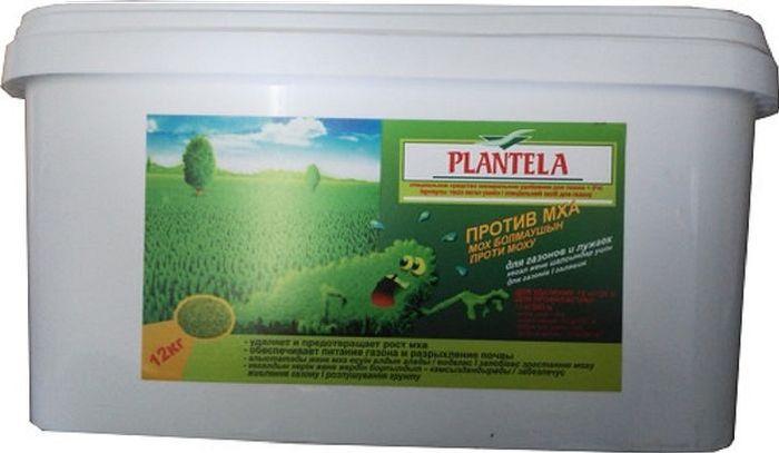 Средство  Plantella , для удаления и профилактики появления мха на газоне, 12 кг -  Грунт и удобрения