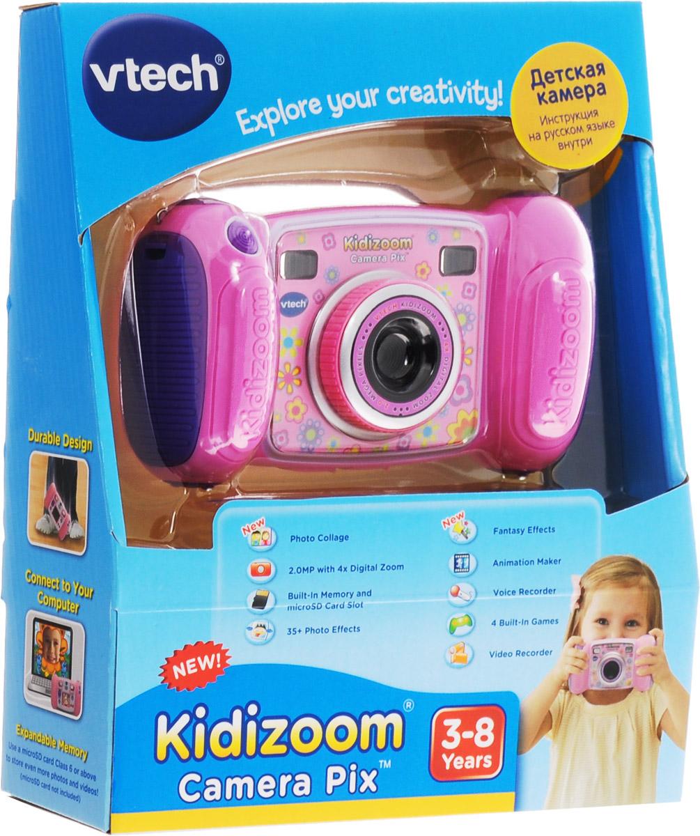 VtechДетская цифровая фотокамера Kidizoom Camera Pix цвет розовый