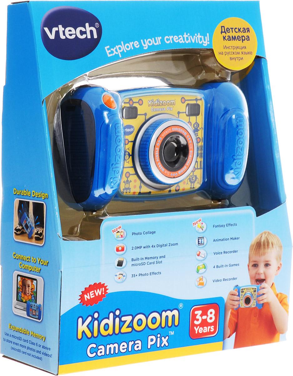 VtechДетская цифровая фотокамера Kidizoom Camera Pix цвет синий Vtech