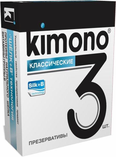 Kimono презервативы классические, 3 шт