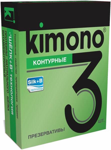 Kimono презервативы контурные, 3 шт156-00-04KIMONO Контурные специальной анатомической формы. Гладкие презервативы в силиконовой смазке с накопителем. Произведены из отборного латекса, при изготовлении использованы самые современные технологии производства и контроля качества на всех этапах. Каждый презерватив проверен электроникой. Только для одноразового использования. Презервативы KIMONO при правильном использовании, обеспечивают надёжную защиту от нежелательной беременности и заболеваний передающихся половым путём в том числе и ВИЧ. Ни одно средство предохранения не гарантирует 100% защиты. Перед использованием необходимо ознакомится с инструкцией внутри упаковки. Фасовка презервативов KIMONO № 3 Контурные: в одном блоке (шоу-боксе) 12 упаковок, в каждой упаковке 3 презервативов.