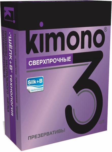 Kimono презервативы сверхпрочные, 3 шт