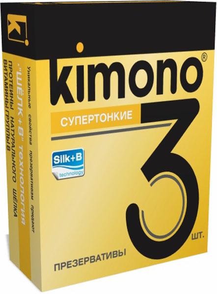 Kimono презервативы супертонкие, 3 шт