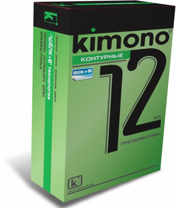 Kimono презервативы контурные, 12 шт ouch reversible collar with wrist