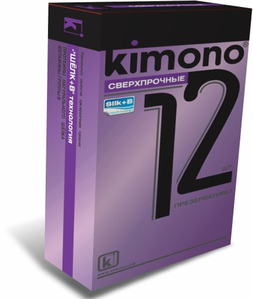 Kimono презервативы сверхпрочные, 12 шт