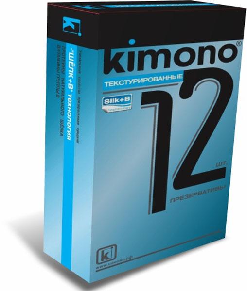 Kimono презервативы текстурированные, 12 шт