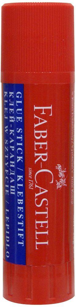 Faber-Castell Клей-карандаш 20 г179520Клей-карандаш Faber-Castell склеивает изделия из бумаги, картона, ткани, фотографии. Улучшенная формула. Экономичен в использовании. Не токсичен, не содержит растворителей. Надежный колпачок предохраняет клей от высыхания.