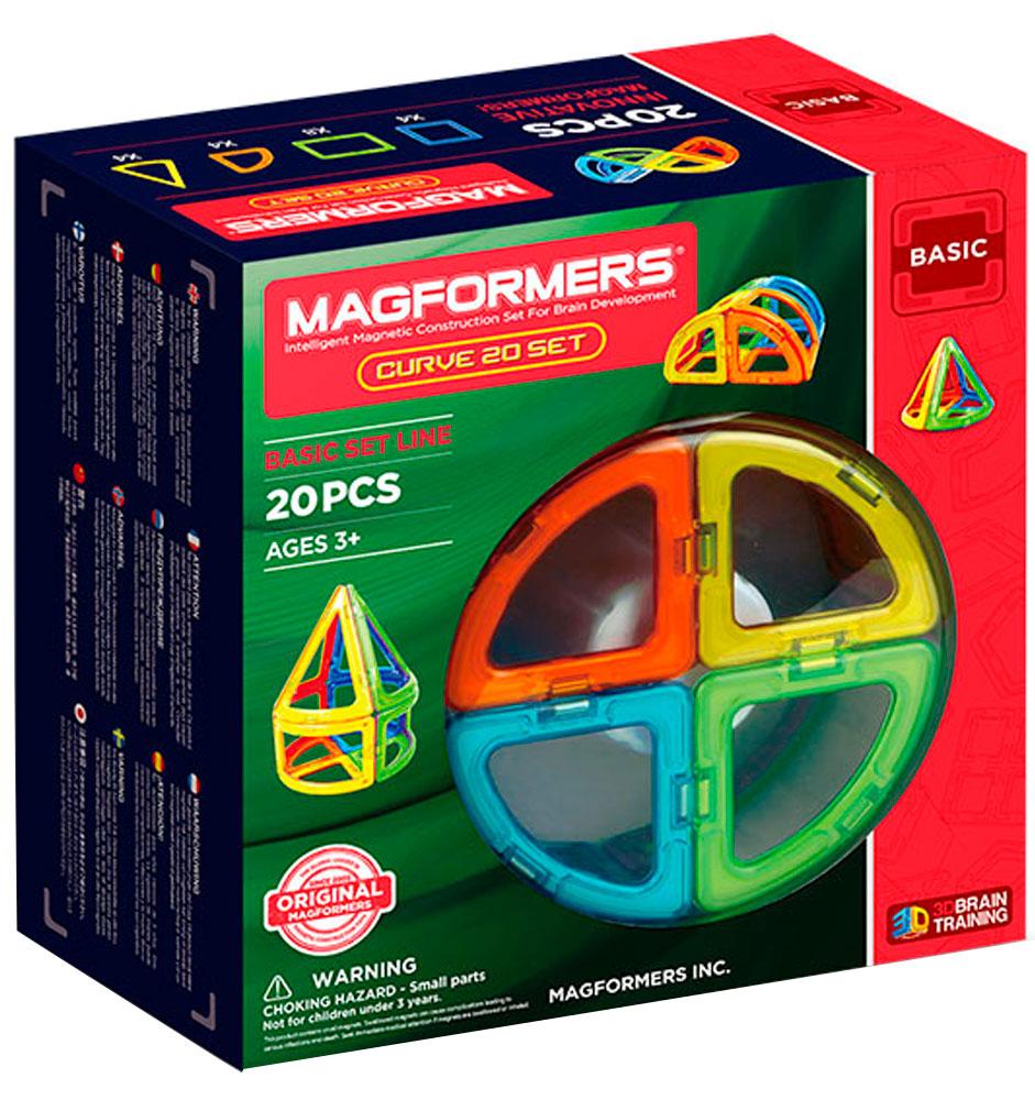 Magformers Магнитный конструктор Curve 20