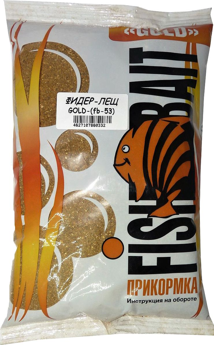 Прикормка для рыб FishBait Gold Фидер Лещ, летняя, 1 кг