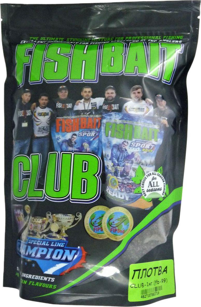 Прикормка для рыб FishBait Club Плотва, летняя, 1 кг