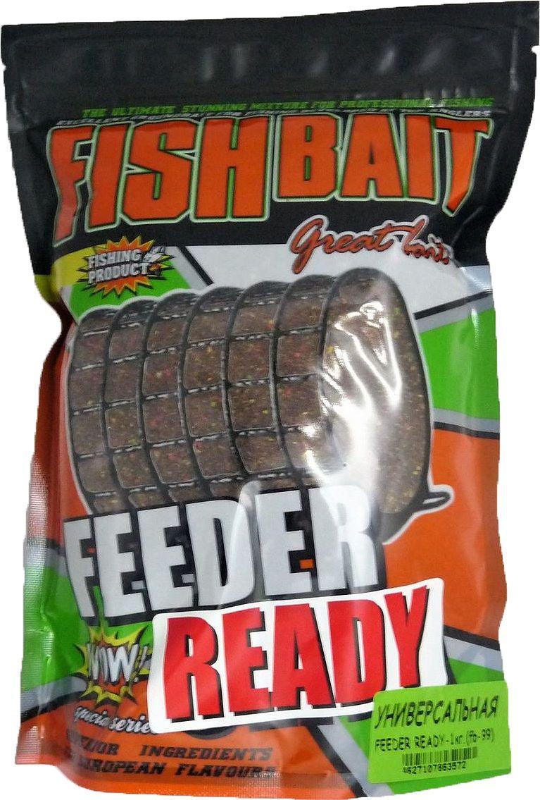 Прикормка для рыб FishBait Feeder Ready Универсальная, 1 кг