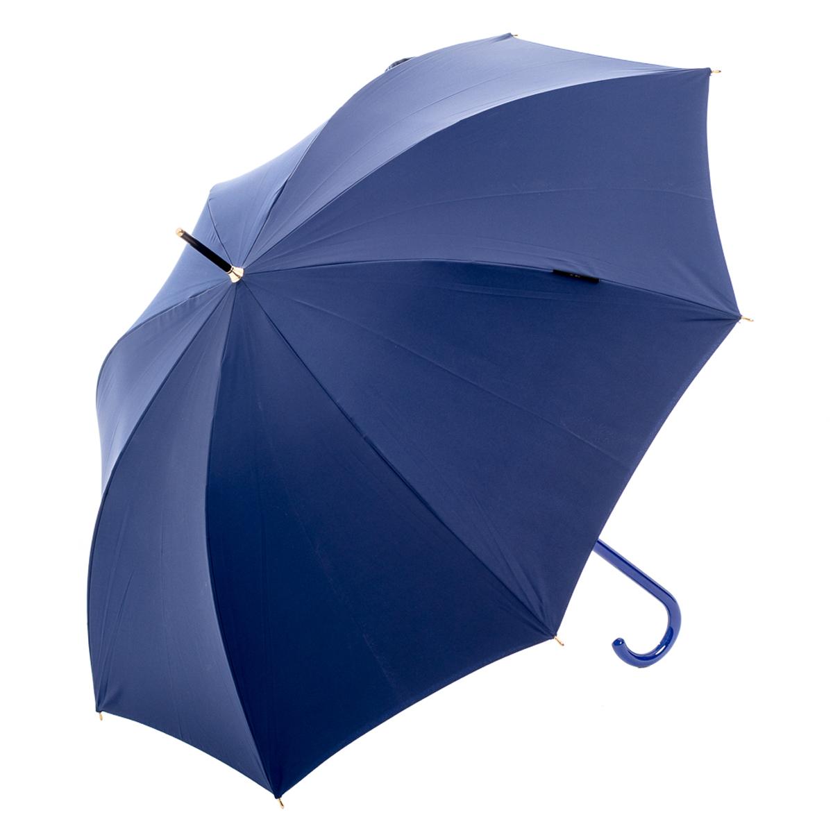 Зонт женский Slava Zaitsev, цвет: синий. SZ-059/2 DoubleБраслет с подвескамиДвухкупольный зонт-трость с дизайном В.М. Зайцева. Внешний купол однотонный, внутренний с дизайном. Спицы спрятаны между двуми слоями ткани. Автоматическое открытие, спицы и шток из высококарбонистой стали. Ткань - полиэстер. Диаметр купола 105 см по нижней части. Длина в сложенном состоянии - 95 см.