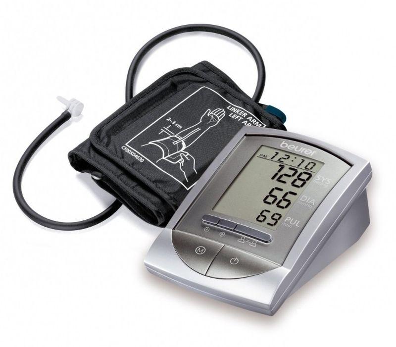 Тонометр Beurer BM16 + адаптер qardio прибор цифровой для измерения давления qardioarm lightning red a100 ilr