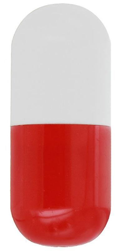 Эврика Ручка шариковая Пилюля цвет корпуса белый красный91208Миниатюрная ручка в виде пилюли имеет телескопическое сложение, приятную округлую форму и удобный карманный формат.Стержень синего цвета, несменяемый. Симпатичный сувенир для медицинских работников и просто любителей необычной канцелярии.
