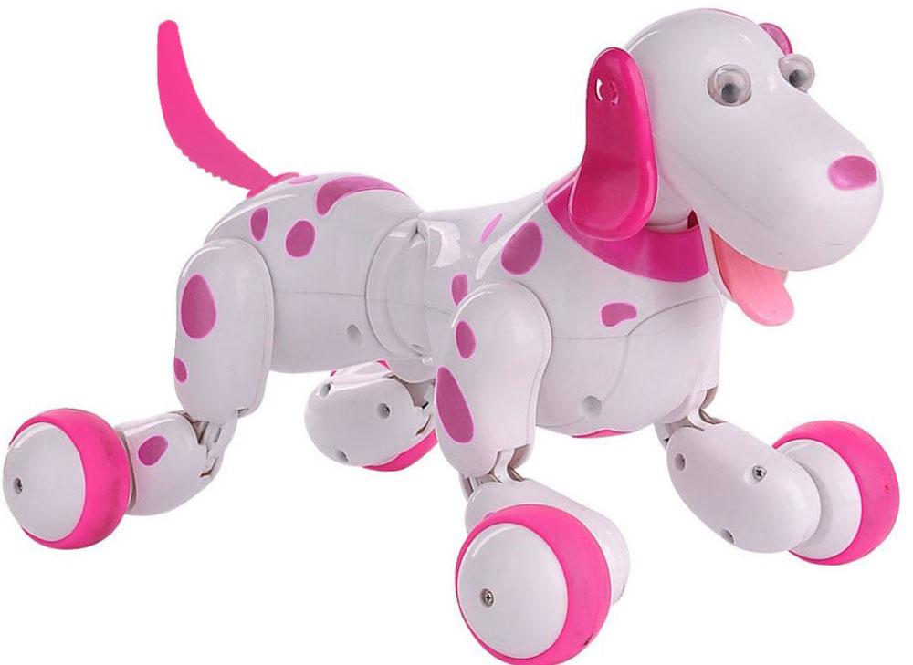 Happy Cow Робот на радиоуправлении Smart-Dog цвет белый розовый