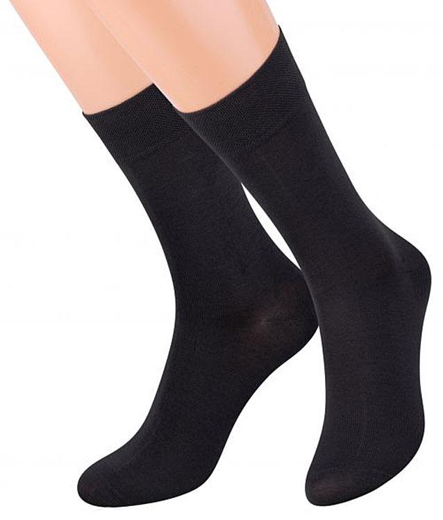 Носки мужские Steven, цвет: темно-серый. 087 (AC7). Размер 44/46 носки подростковые steven цвет серый 150 ms003 размер 35 37