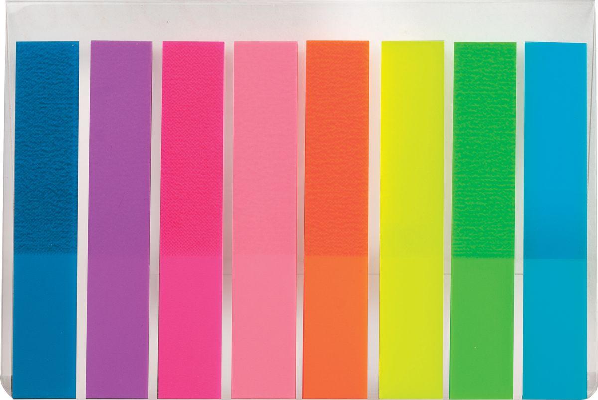 Brauberg Закладки самоклеящиеся 8 цветов по 20 листов126699Яркие закладки Brauberg акцентируют внимание на важных страницах книги, журнала, каталога и др. Крепятся к любой поверхности и сохраняют свои свойства даже при многократном переклеивании.