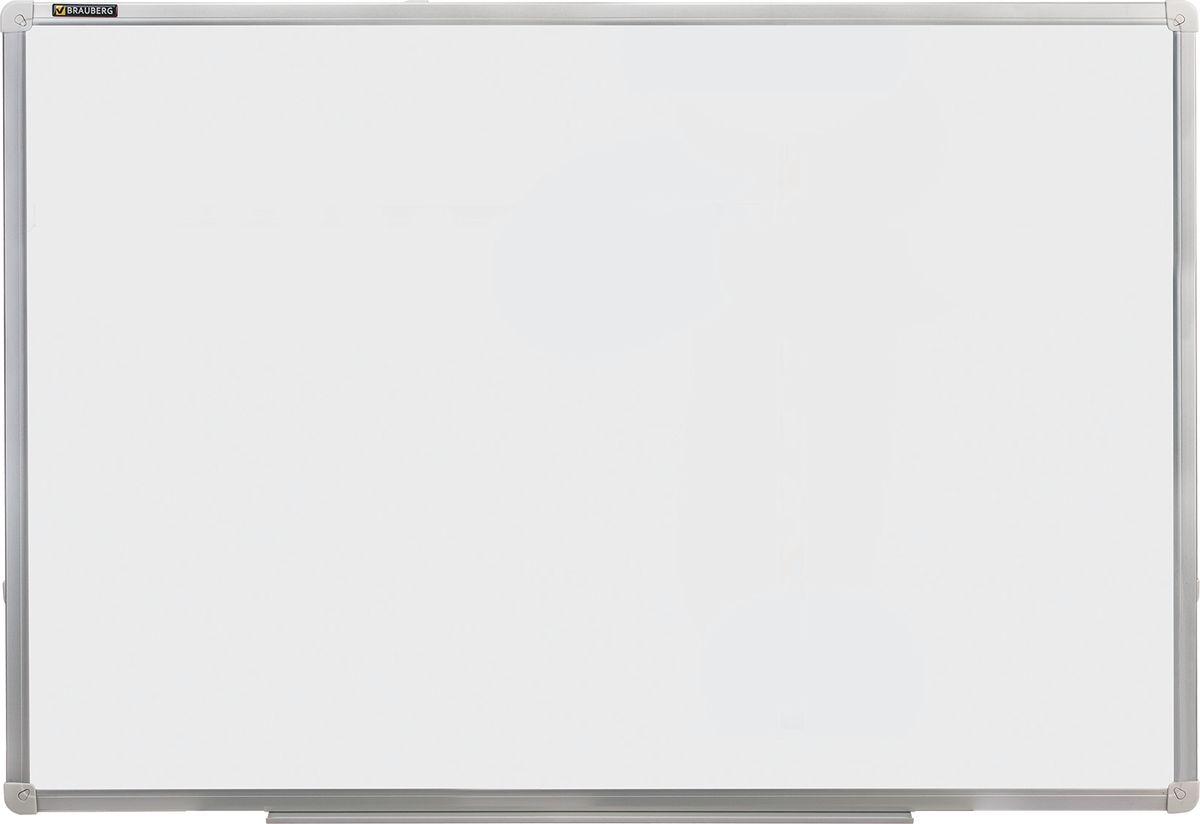 Brauberg Магнитно-маркерная доска 60 х 90 см235521Магнитно-маркерная доска Brauberg идеально подойдет для проведения тренингов, совещаний и презентаций. Лаковое покрытие предназначено для письма специальными маркерами для белой доски, а металлическая поверхность позволяет размещать стикеры при помощи магнитов.