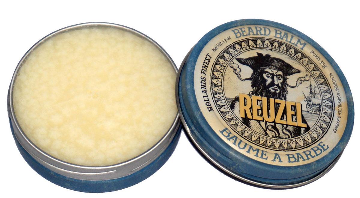 Reuzel бальзам для бороды 35грREU026Многоцелевой бальзам с мужественным ароматом с маслом Ши для ухода за бородой и укладки волос от легкой до средней фиксации.