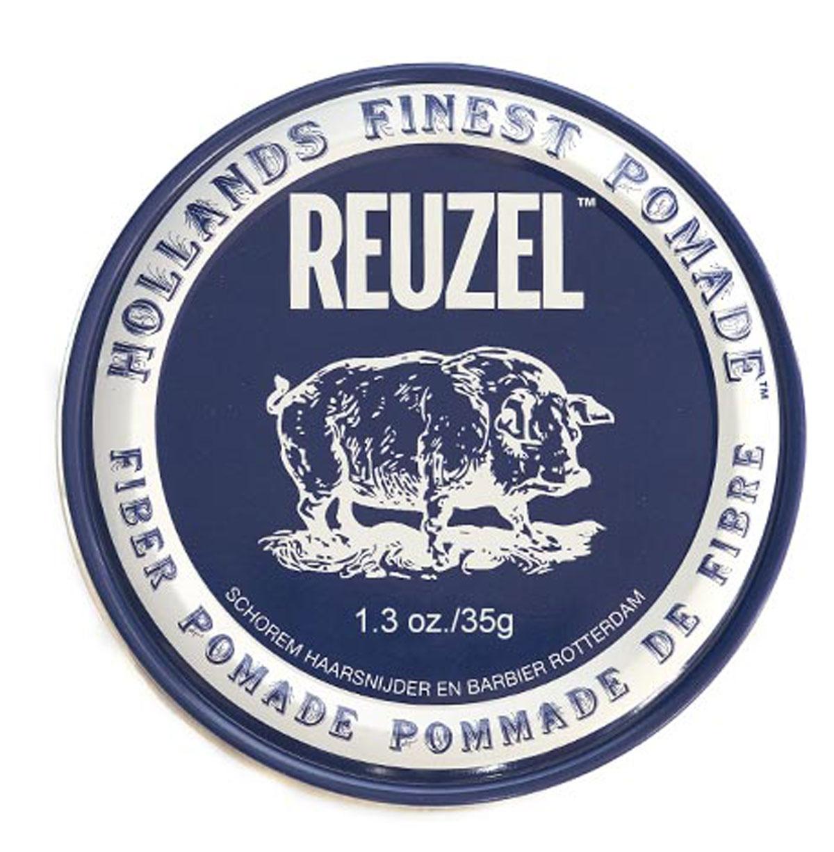 Reuzel паста для укладки волос, темно-синяя банка 35грREU029Fiber Pomade – это помада в темно-синей банке на водной основе. Создает текстурированную укладку, которая долго продержится, но при этом является подвижной. Низкая степень блеска и средняя фиксация. Помада лучше всего работает на коротких волосах, также отлично походит для плотных волос средней длины. Fiber Pomade поможет создать стиль легкой небрежности, будто вы только встали с кровати, но уже готовы покорять этот мир.