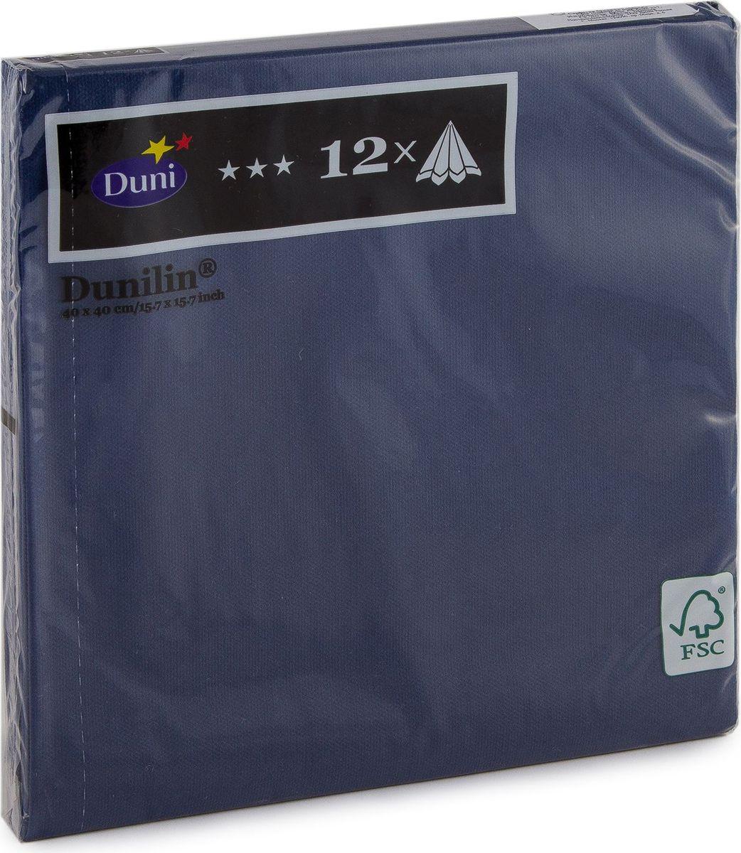 Салфетки бумажные Duni Lin Soft, цвет: синий, 40 см. 148382148382Многослойные бумажные салфетки изготовлены из экологически чистого, высококачественного сырья - 100% целлюлозы. Салфетки выполнены в оригинальном и современном стиле, прекрасно сочетаются с любым интерьером и всегда будут прекрасным и незаменимым украшением стола.