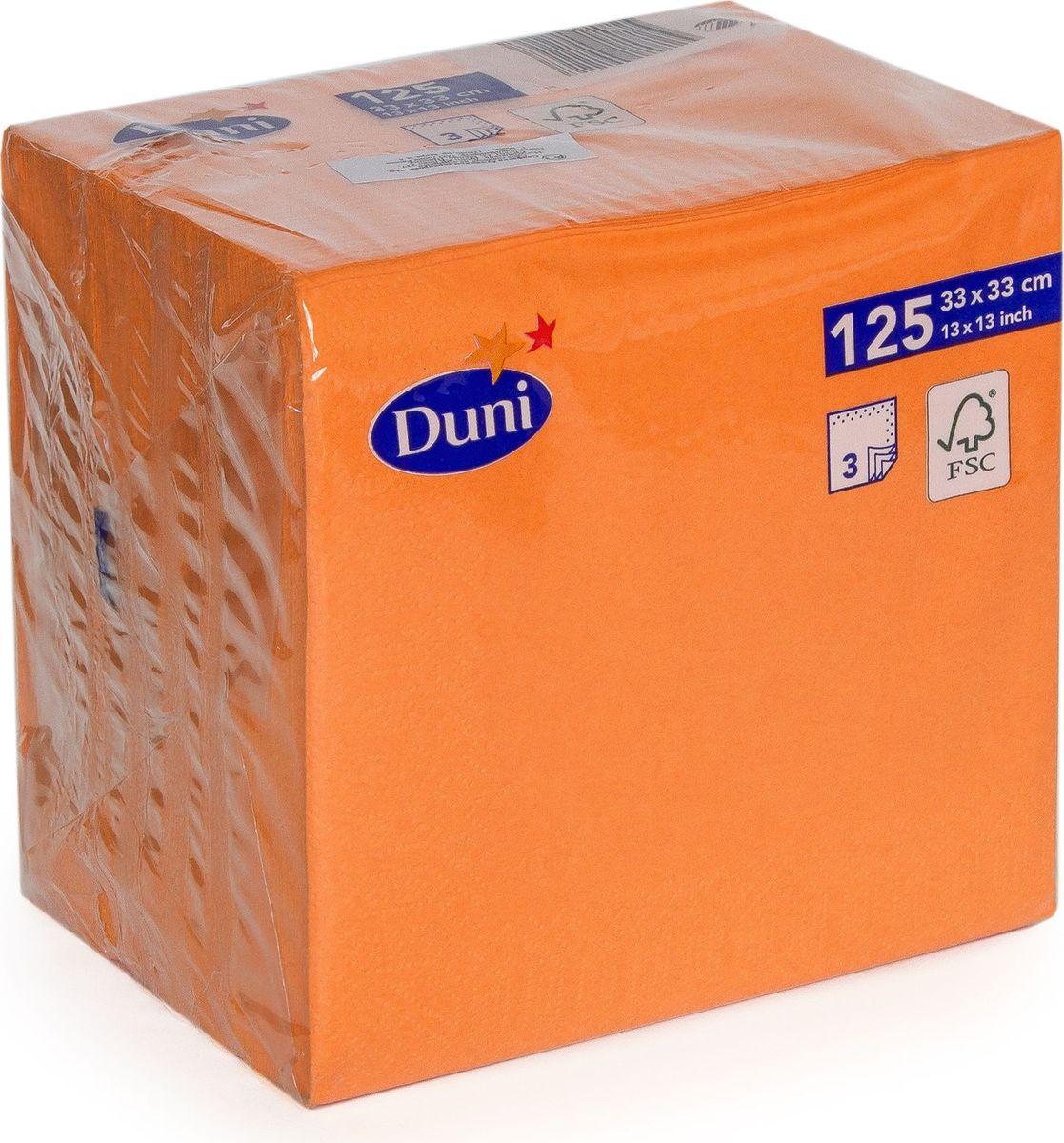 Салфетки бумажные Duni, 3-слойные, цвет: красный, 33 х 33 см. 149111 бумажные салфетки duni салфетки бумажные 3 слойные 33 х 33 см белые 20 шт