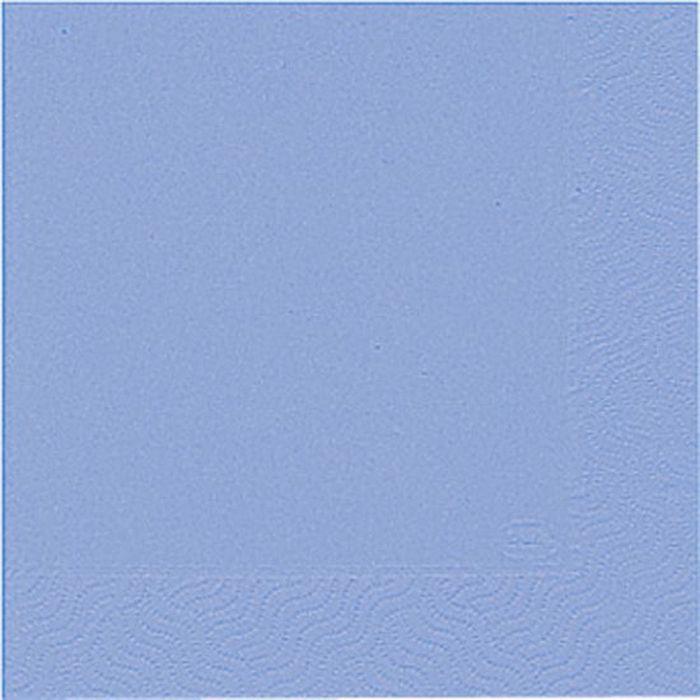 Салфетки бумажные  Duni , 3-слойные, цвет: голубой, 24 х 24 см, 20 шт. 151793 - Одноразовая посуда