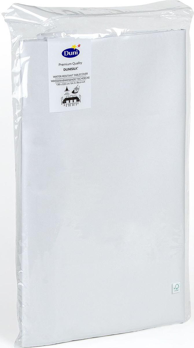 Скатерть одноразовая  Dunicel , цвет: серый, 138 х 220 см - Одноразовая посуда
