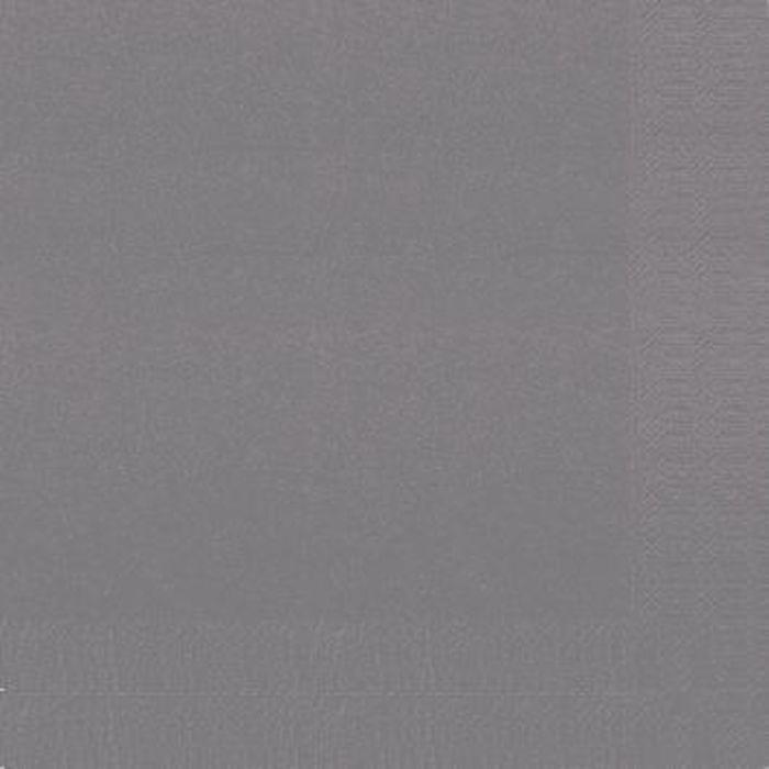 Салфетки бумажные Duni, 2-слойные, цвет: серый, 33 х 33 см, 20 шт156902Многослойные бумажные салфетки изготовлены из экологически чистого, высококачественного сырья - 100% целлюлозы. Салфетки выполнены в оригинальном и современном стиле, прекрасно сочетаются с любым интерьером и всегда будут прекрасным и незаменимым украшением стола.