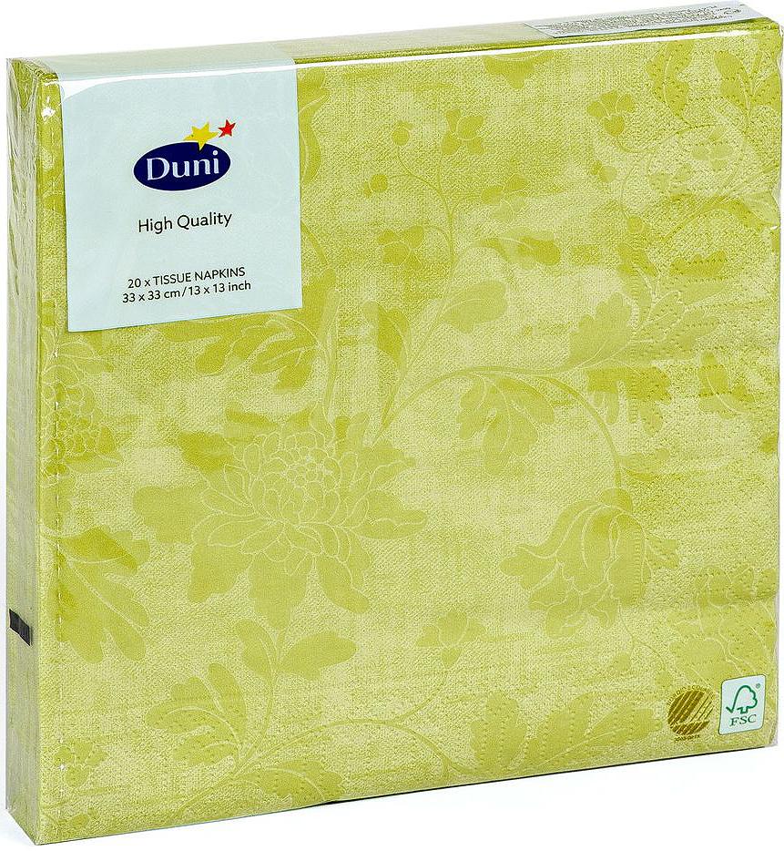 Салфетки бумажные Duni Венеция, 3-слойные, 33 х 33 см, 20 шт бумажные салфетки duni салфетки бумажные 3 слойные 33 х 33 см lea white 20 шт