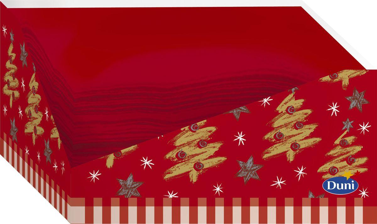 Салфетки бумажные Duni, цвет: красный, 2-слойные, 24 х 33 см160629Многослойные бумажные салфетки изготовлены из экологически чистого, высококачественного сырья - 100% целлюлозы. Салфетки выполнены в оригинальном и современном стиле, прекрасно сочетаются с любым интерьером и всегда будут прекрасным и незаменимым украшением стола.
