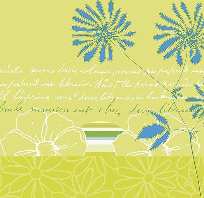 Салфетки бумажные Duni Lin, цвет: зеленый, 40 см161346Многослойные бумажные салфетки изготовлены из экологически чистого, высококачественного сырья - 100% целлюлозы. Салфетки выполнены в оригинальном и современном стиле, прекрасно сочетаются с любым интерьером и всегда будут прекрасным и незаменимым украшением стола.