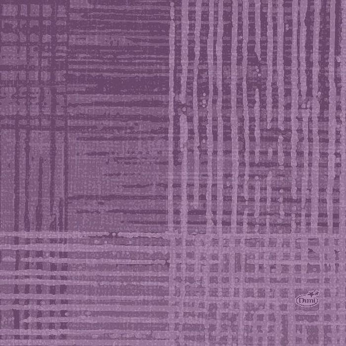 Салфетки бумажные  Duni , 3-слойные, цвет: фиолетовый, 33 х 33 см - Одноразовая посуда