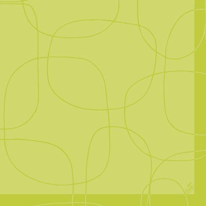 Салфетки бумажные Duni Lin , цвет: зеленый, 40 см163255Трехслойные бумажные салфетки изготовлены из экологически чистого, высококачественного сырья - 100% целлюлозы. Салфетки выполнены в оригинальном и современном стиле, прекрасно сочетаются с любым интерьером и всегда будут прекрасным и незаменимым украшением стола.