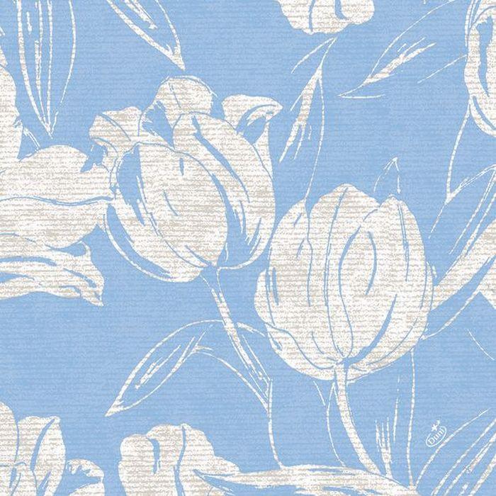Салфетки бумажные Duni Lin, цвет: голубой, 40 см163258Многослойные бумажные салфетки изготовлены из экологически чистого, высококачественного сырья - 100% целлюлозы. Салфетки выполнены в оригинальном и современном стиле, прекрасно сочетаются с любым интерьером и всегда будут прекрасным и незаменимым украшением стола.