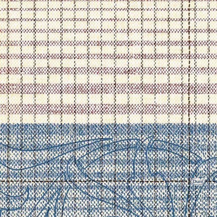 Салфетки бумажные  Duni , 3-слойные, цвет: голубой, 33 х 33 см. 163276 - Одноразовая посуда
