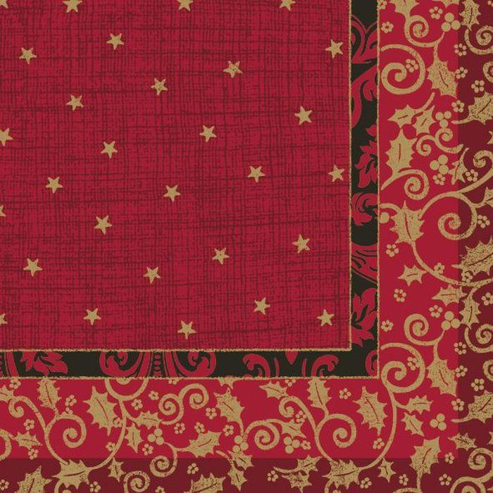 Салфетки бумажные Duni, 3-слойные, цвет: красный, 33 х 33 см. 163787163787Многослойные бумажные салфетки изготовлены из экологически чистого, высококачественного сырья - 100% целлюлозы. Салфетки выполнены в оригинальном и современном стиле, прекрасно сочетаются с любым интерьером и всегда будут прекрасным и незаменимым украшением стола.