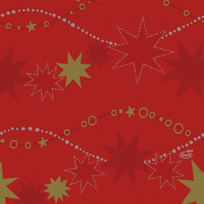 Салфетки бумажные Duni, 3-слойные, цвет: красный, 33 х 33 см164202Трехслойные бумажные салфетки изготовлены из экологически чистого, высококачественного сырья - 100% целлюлозы. Салфетки выполнены в оригинальном и современном стиле, прекрасно сочетаются с любым интерьером и всегда будут прекрасным и незаменимым украшением стола.