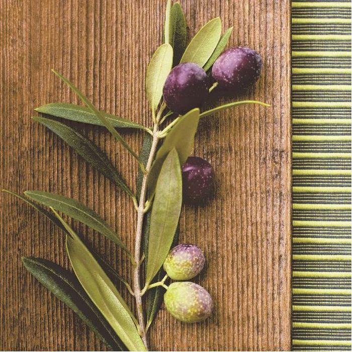 Салфетки бумажные Duni, 3-слойные, цвет: зеленый, 33 х 33 см164902Трехслойные бумажные салфетки изготовлены из экологически чистого, высококачественного сырья - 100% целлюлозы. Салфетки выполнены в оригинальном и современном стиле, прекрасно сочетаются с любым интерьером и всегда будут прекрасным и незаменимым украшением стола.
