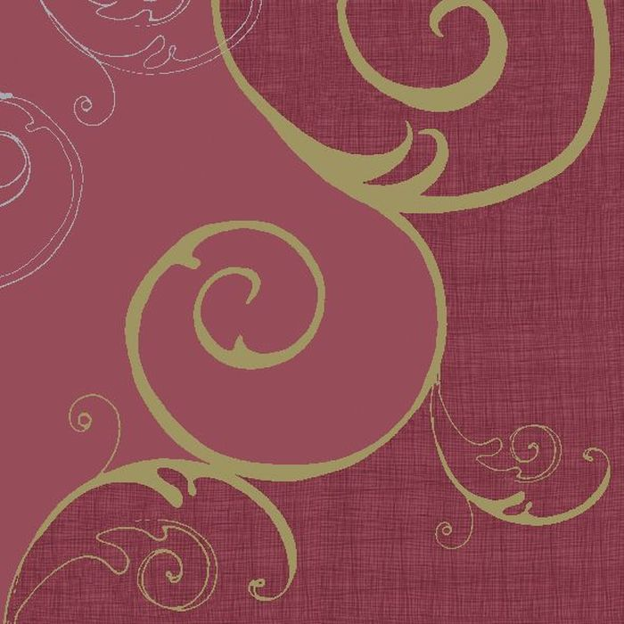 Салфетки бумажные Duni, 3-слойные, цвет: бордовый, 24 х 24 см, 20 шт бумажные салфетки duni салфетки бумажные 3 слойные зеленая 33х33 см 20 шт